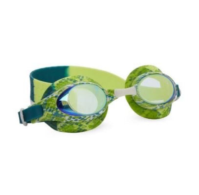 BLING2O Jake the Snake Goggles- Lime