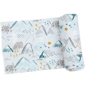 Angel Dear Mountains Swaddle Blanket