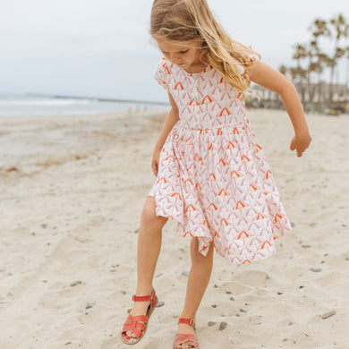Winnie Beach Umbrellas Dress