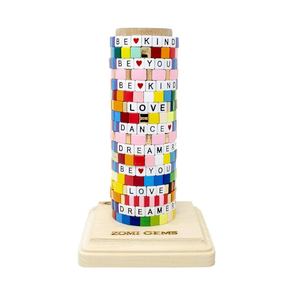 Zomi Gem Rainbow Inspire Bracelet Tower