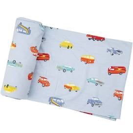 Angel Dear Sweet Ride Swaddle Blanket
