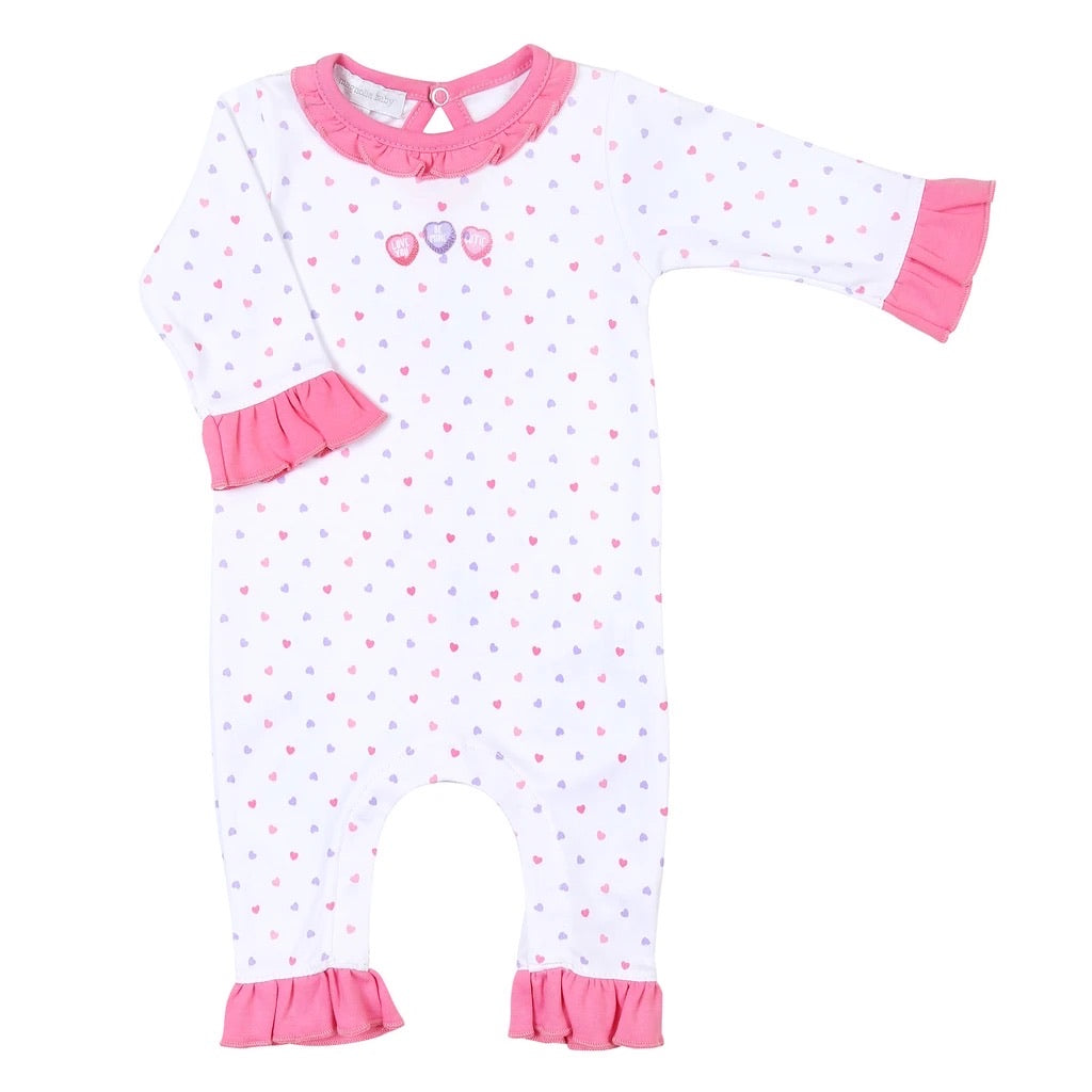 Magnolia Baby Embroidered Sweetheart Playsuit