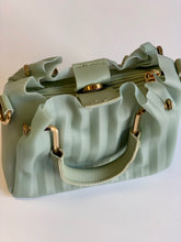 Load image into Gallery viewer, Periwinkle Frost Pleated Purse