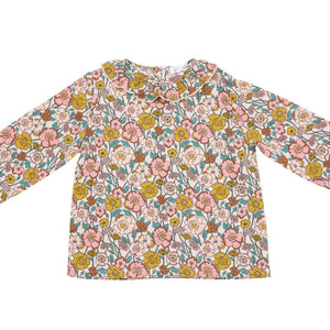 Angel Dear Flower Child Blouse Pink Multi