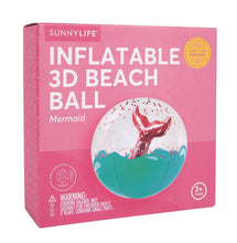 Load image into Gallery viewer, Sunnylife 3D Inflatable Beach Ball/ Mermaid