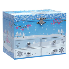 Load image into Gallery viewer, Snow Princess Music Jewelry Box