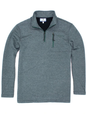 Properly Tied Delta Pullover -Brush Green