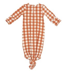 Angel Dear Gingham Pumpkin Gown