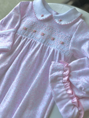 Magnolia Baby Melissa's Classics Smocked Gown