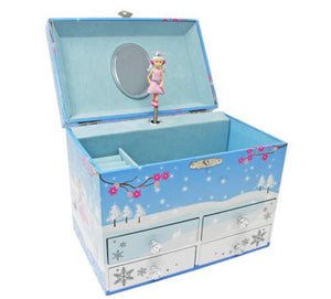 Snow Princess Music Jewelry Box