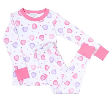 "Magnolia Baby ""Sweetheart"" Long Pajamas"