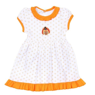 Magnolia Baby Give Thanks Collared Toddler Dress