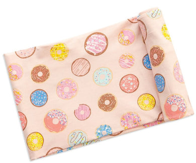 Angel Dear Donuts Bamboo swaddle blanket