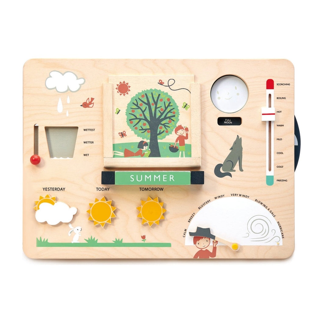 Weather Watch interactive play board