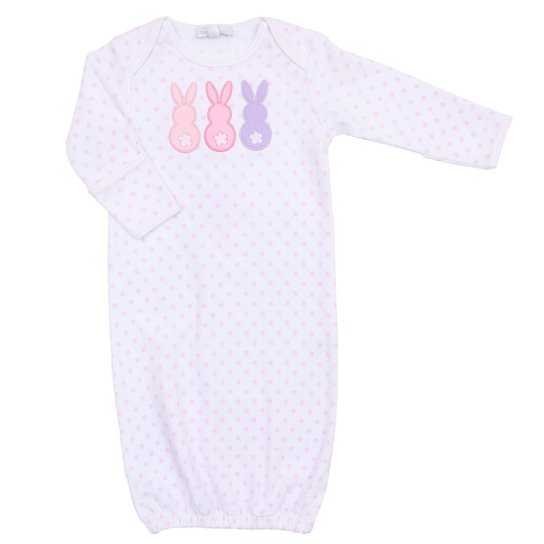 Magnolia Baby Bunny Gown-Light Pink