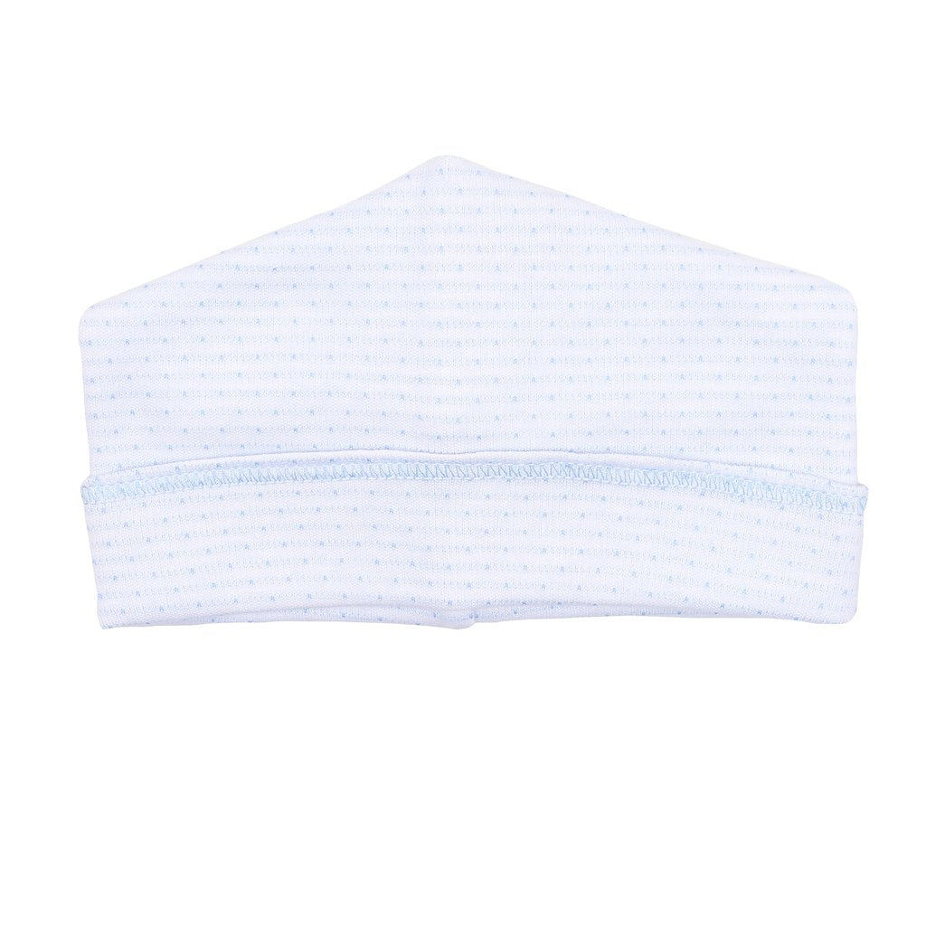 Magnolia Baby Jillian and Jacob's Classics Embroidered Hat-Light Blue