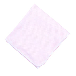 Magnolia Baby Jillian and Jacob's Classics Embroidered Receiving Blanket-Light Pink