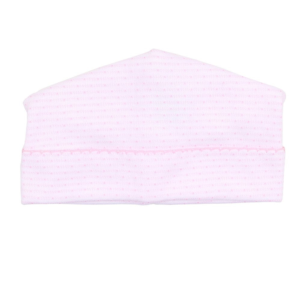Magnolia Baby Jillian and Jacob's Classics Embroidered Hat-Light Pink