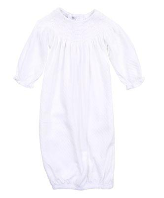 Magnolia Baby  Zach and Zoe's Bishop Gown-White