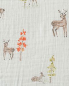 Little Unicorn Cotton Muslin Swaddle- Oh Deer