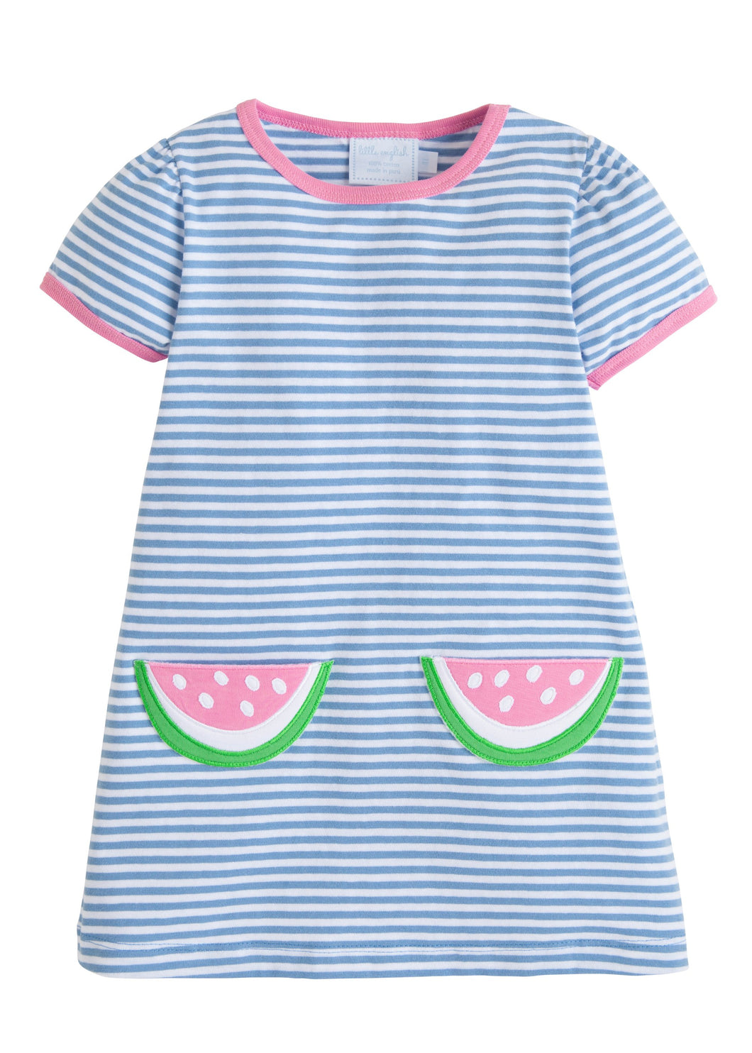 Little English Watermelon T-Shirt Dress