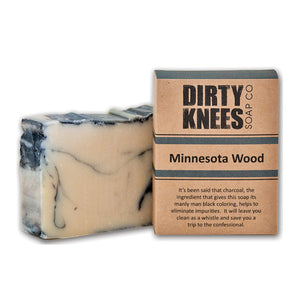 Minnesota Wood Bar Soap by Dirty Knees Soap Co.