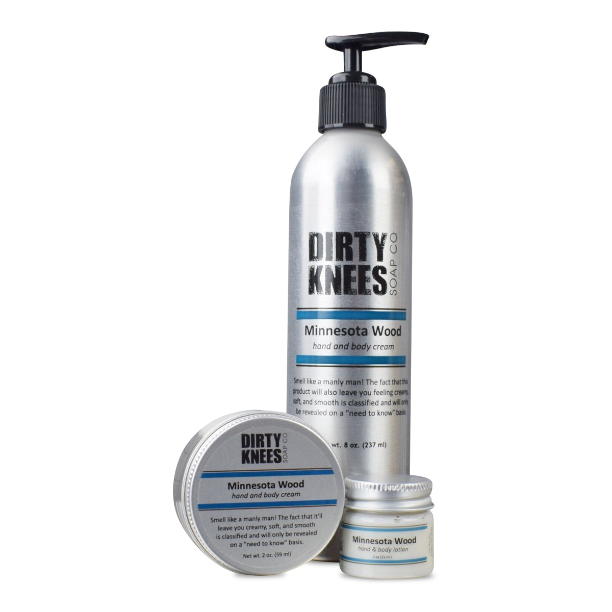 Minnesota Wood Hand & Body Lotion - Dirty Knees Soap Co., LLC
