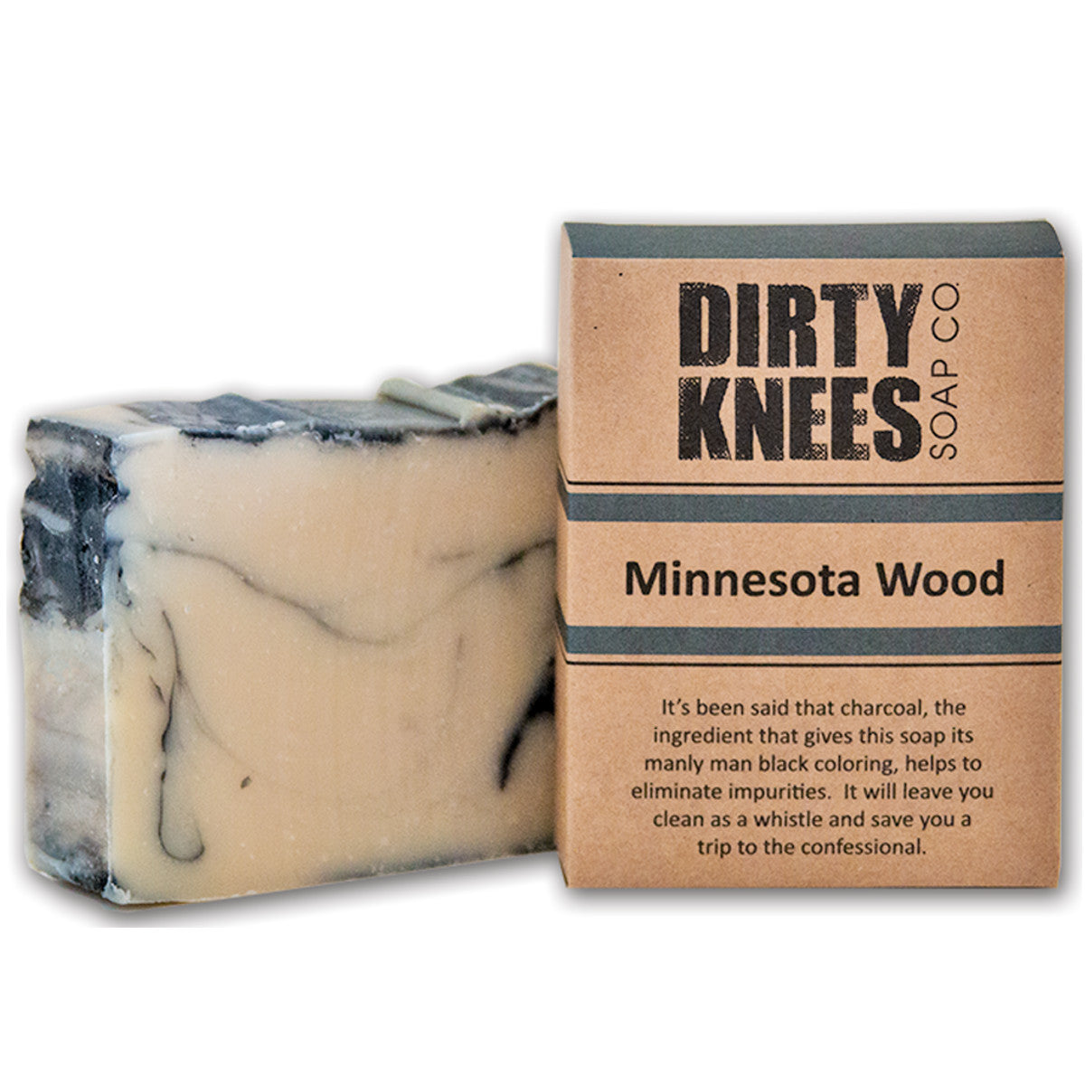 Minnesota Wood Bar Soap - Dirty Knees Soap Co., LLC