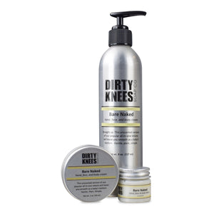 Bare Naked Hand, Face & Body Lotion by Dirty Knees Soap Co.