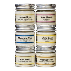 Cream & Body Butter Sample Pack