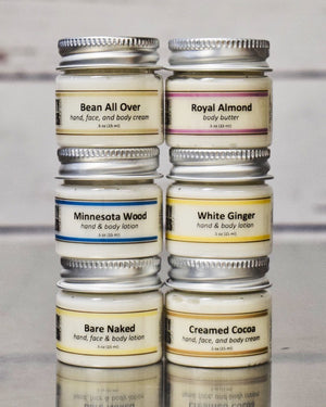 Cream & Body Butter Sample Pack - Dirty Knees Soap Co.