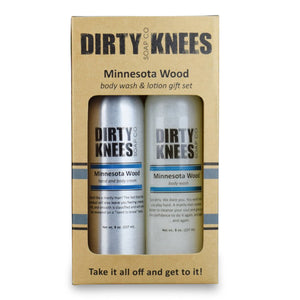 Minnesota Wood Gift Box - Dirty Knees Soap Co.