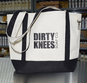 Canvas Bag - Dirty Knees Soap Co.