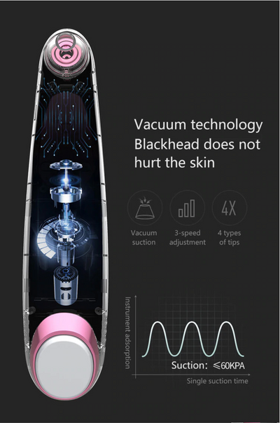 Pore Vaccum Facial Cleaner