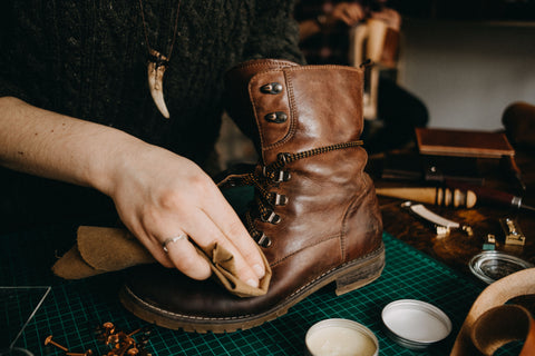 how to care for leather goods