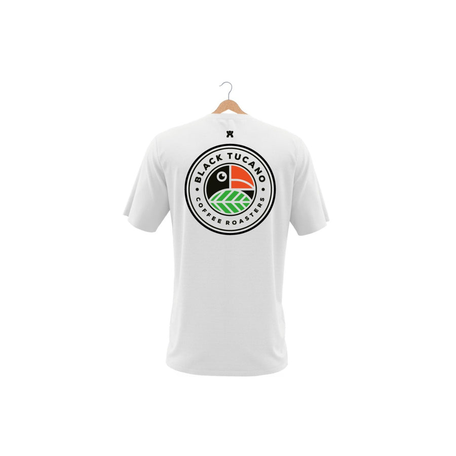 T-Shirt Black Tucano Single Origin White