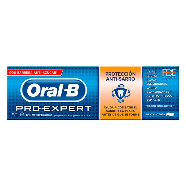 Anti-placktandkräm Pro-expert Oral-B (75 ml) - parfymeria