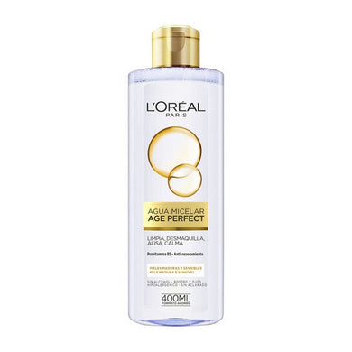 Micellärt vatten Age Perfect L'Oreal Make Up (400 ml) - parfymeria