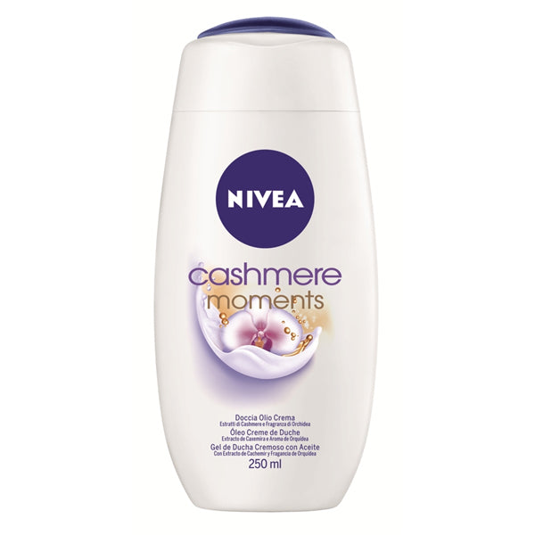 Duschtvål Care And Cashmere Nivea (250 ml) - parfymeria