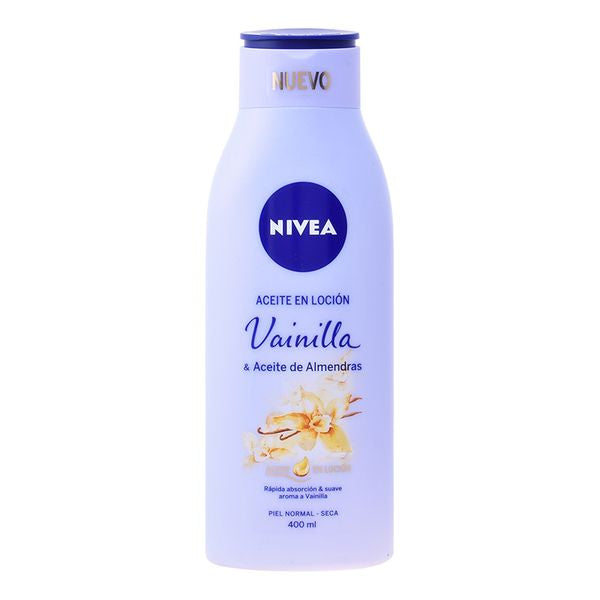 Almond and Vanilla Oil Lotion Nivea (400 ml) - parfymeria