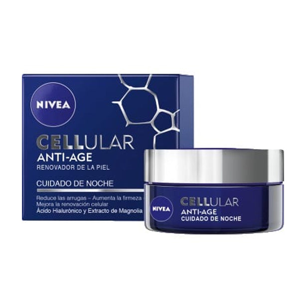 Anti-aging nattkräm Cellular Nivea (50 ml) - parfymeria