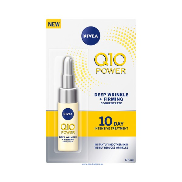 Anti rynk-behandling Q10+ Power Nivea (6,5 ml) - parfymeria