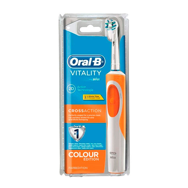Tandborste Vitality Cross Action Oral-B Orange - parfymeria