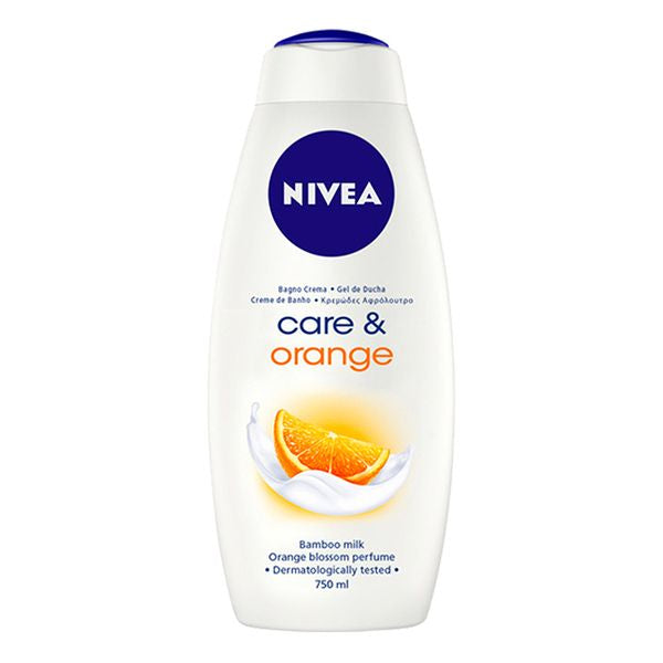 Duschtvål Care & Orange Nivea (750 ml) - parfymeria