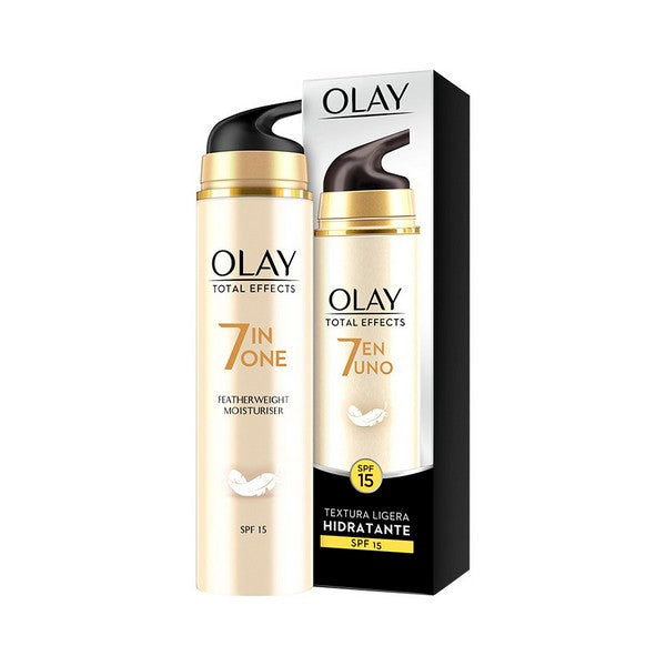 Anti-aging fuktkräm Total Effects Olay SPF 15 (50 ml) - parfymeria