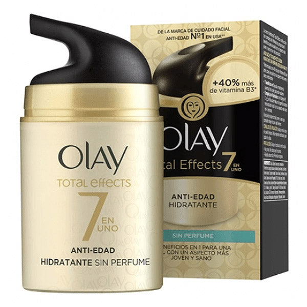 Anti-aging fuktkräm Total Effects Olay (50 ml) - parfymeria