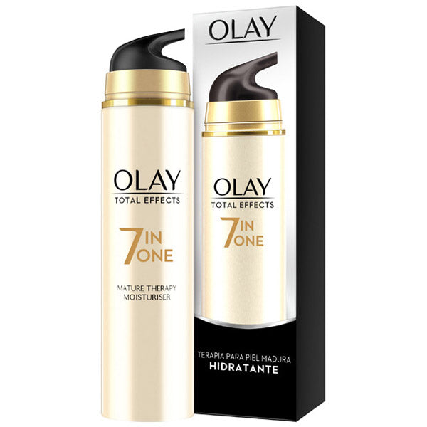 Anti-aging fuktkräm Total Effects Olay (50 ml) Mogen hud - parfymeria