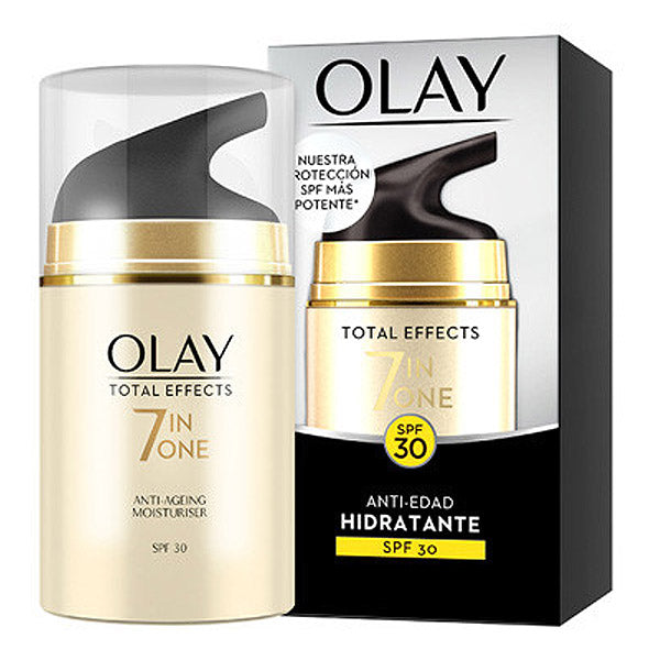 Anti-aging fuktkräm Total Effects 7 In One Olay (50 ml) - parfymeria