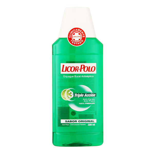 Munskölj Antiplaque Licor Del Polo (300 ml) - parfymeria