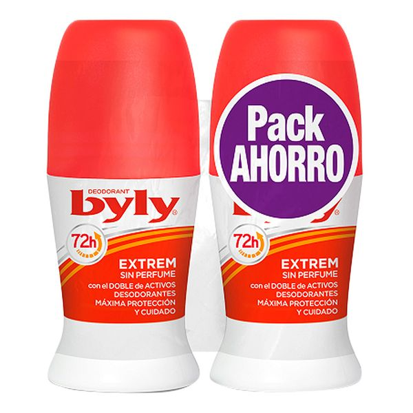Roll-on deodorant Extrem Byly (2x50ml) - parfymeria